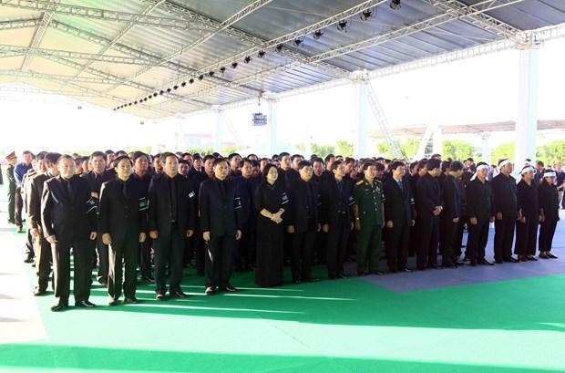 胡志明市和宁平省为国家主席陈大光举行吊唁仪式 hinh anh 2