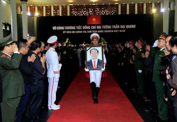 世界各国领导人继续就越南国家主席陈大光逝世向越南党和国家领导致唁电 hinh anh 1