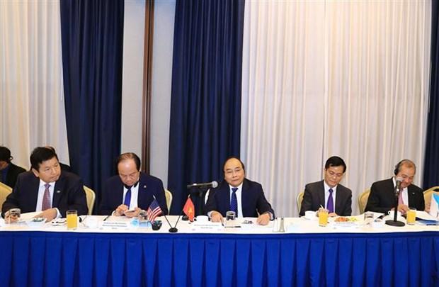 第73届联大一般性辩论:政府总理阮春福主持召开吸引对越投资的座谈会 hinh anh 1