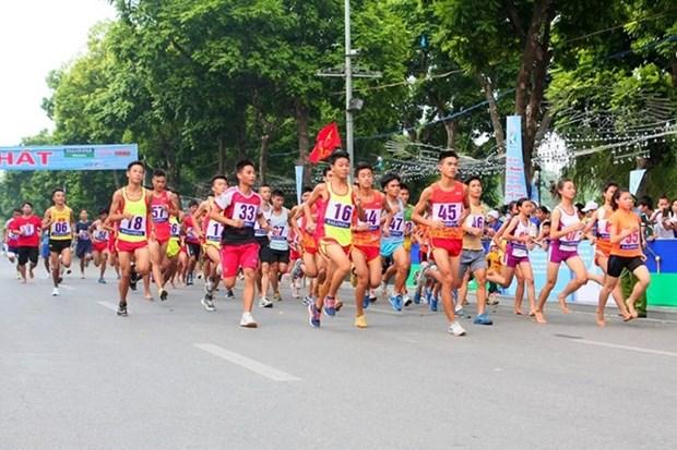 1500名运动员将参加第45次《新河内报》跑步公开赛总决赛 hinh anh 1