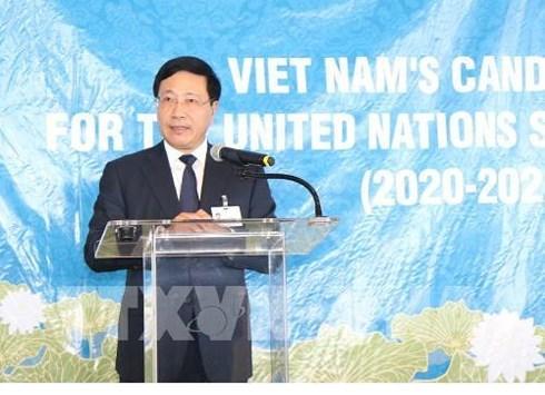 各国支持越南参加联合国安理会非常任理事国席位竞选动员会召开 hinh anh 1