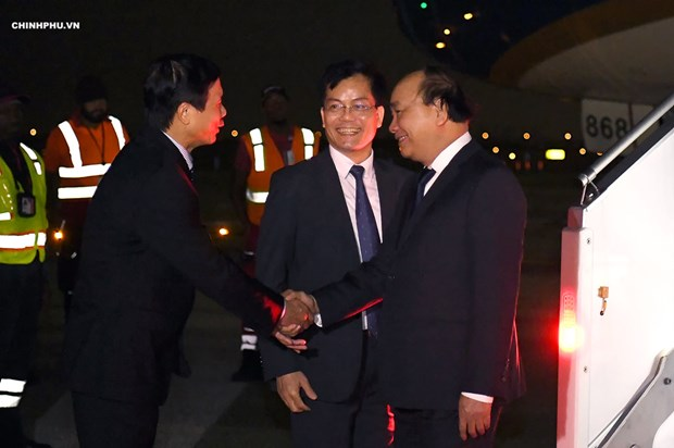 越南政府总理阮春福赴纽约出席第73届联合国大会 hinh anh 1