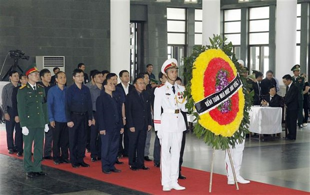 国际朋友对越南国家主席陈大光的深厚感情 hinh anh 2