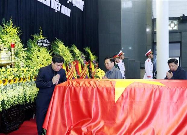 国际朋友对越南国家主席陈大光的深厚感情 hinh anh 1