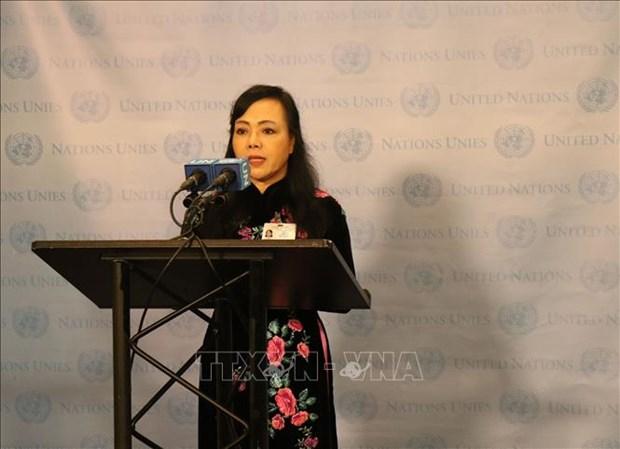 越南卫生部部长阮氏金进出席联合国结核病防治问题高级别会议 hinh anh 1