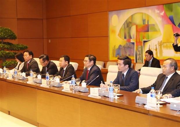 越共中央组织部部长范明正会见日本首相特使 hinh anh 2