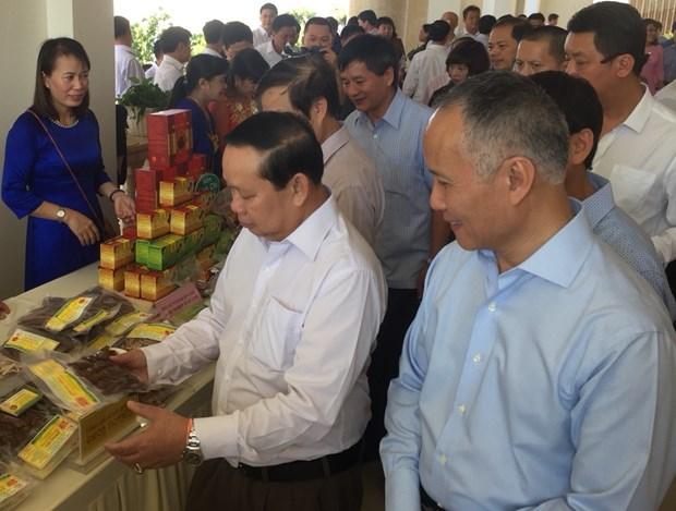 越南与老挝加强边贸合作 hinh anh 2