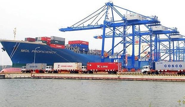 越南投资50万亿越盾建设盖梅下物流中心和综合港区项目 hinh anh 1
