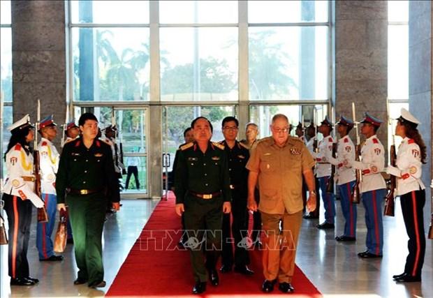 越南军队与古巴军队加强经济合作 hinh anh 1