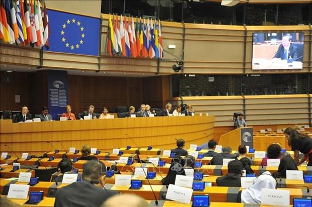 越南国会副主席冯国显出席第十届亚欧议会伙伴会议 hinh anh 1