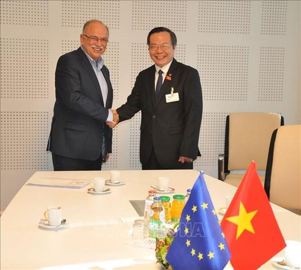 越南国会副主席冯国显出席第十届亚欧议会伙伴会议 hinh anh 2