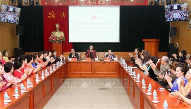 越共中央民运部部长张氏梅:旅居海外越侨是越南民族不可分割的部分 hinh anh 1