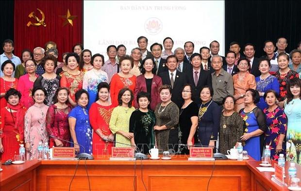 越共中央民运部部长张氏梅:旅居海外越侨是越南民族不可分割的部分 hinh anh 2
