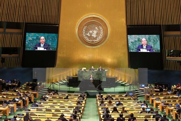 越南政府总理阮春福出席第73届联合国大会一般性辩论发表重要讲话 hinh anh 1
