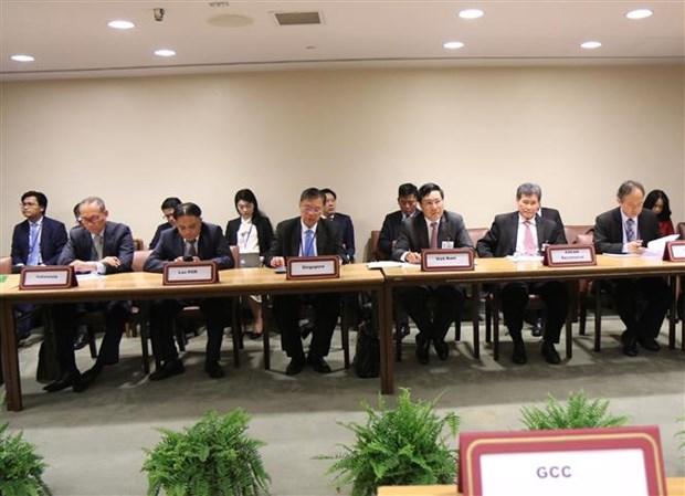 第73 届联合国大会:东盟与海湾阿拉伯国家合作委员会外长会议在美国举行 hinh anh 2