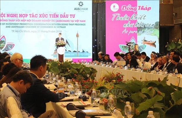 越南九龙江三角洲地区各省呼吁澳大利亚企业前来投资兴业 hinh anh 1