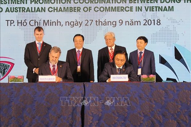 越南九龙江三角洲地区各省呼吁澳大利亚企业前来投资兴业 hinh anh 2