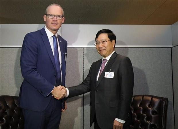 范平明副总理在第73 届联大期间与多国领导举行双边会晤 hinh anh 1