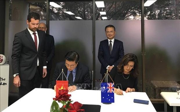 加强越南与澳大利亚之间的律师培训合作 hinh anh 1