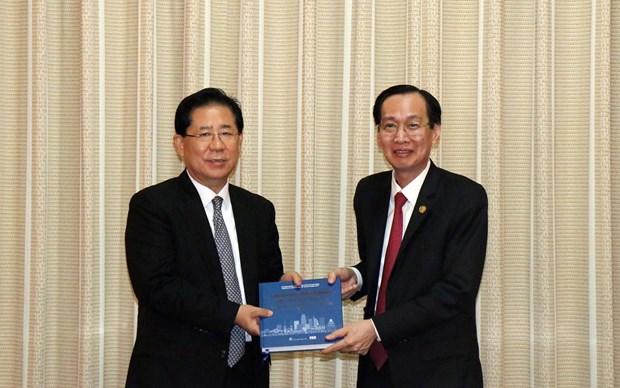 胡志明市大力推进与东北亚地区地方政府联合会的旅游合作 hinh anh 1