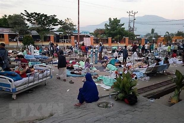 越南领导人就印尼发生强烈地震向印尼总统致慰问电尚无越南公民伤亡报告 hinh anh 1