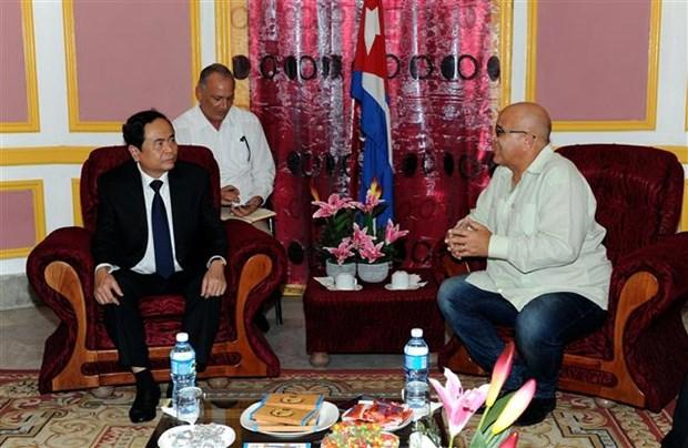 越南一直为古巴革命事业给予大力的支持 hinh anh 2
