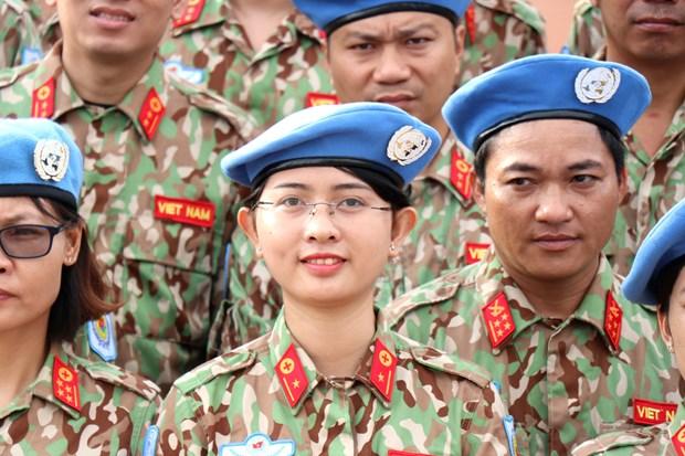阮志咏上将:每位维和人员就是越南和平、文化的使者和军事力量 hinh anh 1