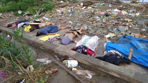 印尼发生7级以上强震 造成近50人死亡 数百人受伤 hinh anh 1