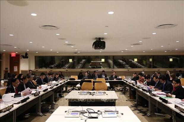 第73届联合国大会:东盟外长非正式会议和东盟—联合国外长会议相继举行 hinh anh 1