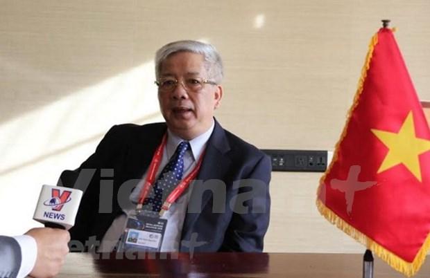 阮志咏上将:每位维和人员就是越南和平、文化的使者和军事力量 hinh anh 2