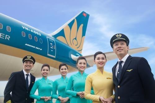越南航空荣获全球四星级航空公司称号 hinh anh 1
