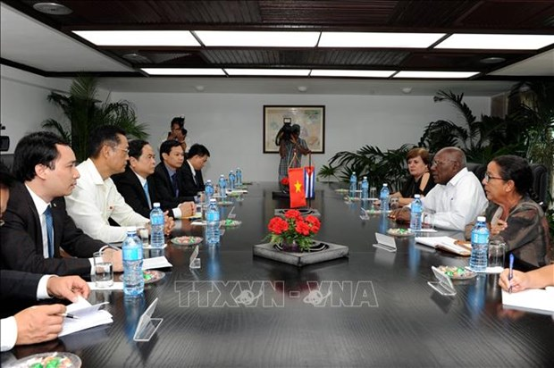 古巴领导人对越古合作关系的发展充满期待 hinh anh 1