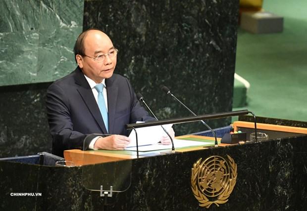 越南外交部副部长阮芳娥:越南政府总理阮春福在联合国之行取得丰硕成果 hinh anh 1