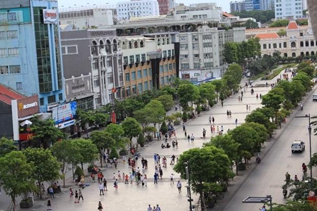 胡志明市将开设多条步行街 hinh anh 1