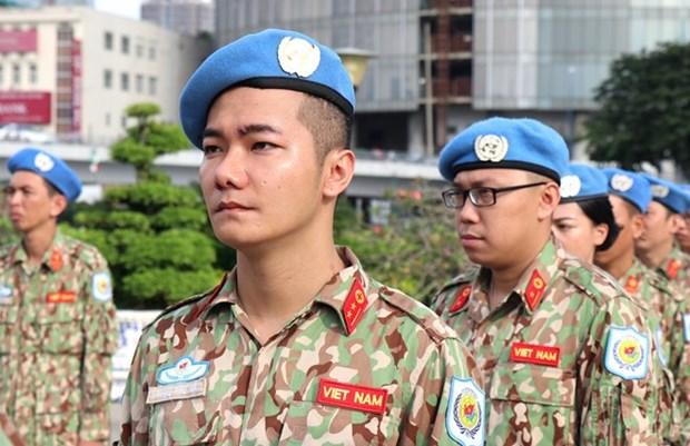 越南参加联合国维和行动 履行国际人道主义崇高的使命 hinh anh 1