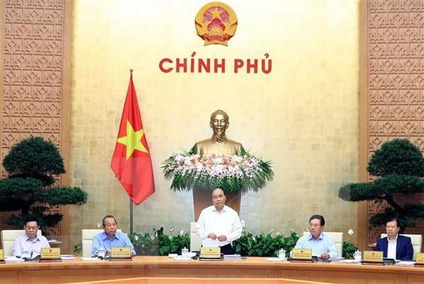 越南政府召开9月份例行会议:GDP创2011年以来新高 hinh anh 1