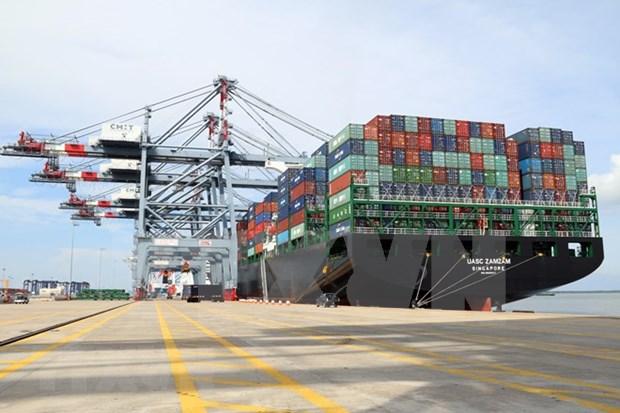 越南港口集装箱吞吐量猛增 hinh anh 2