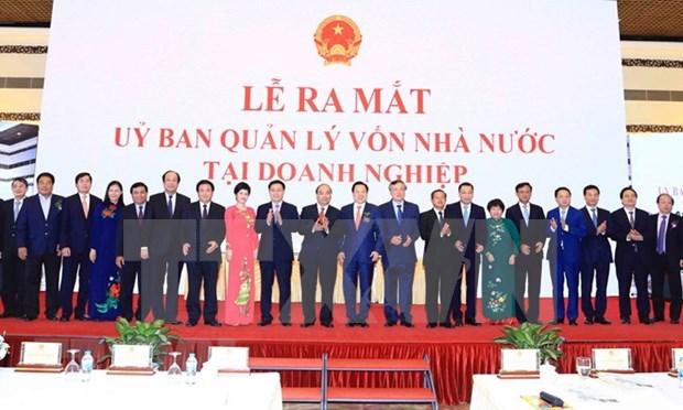 越南企业国有资产管理委员会正式亮相 hinh anh 1