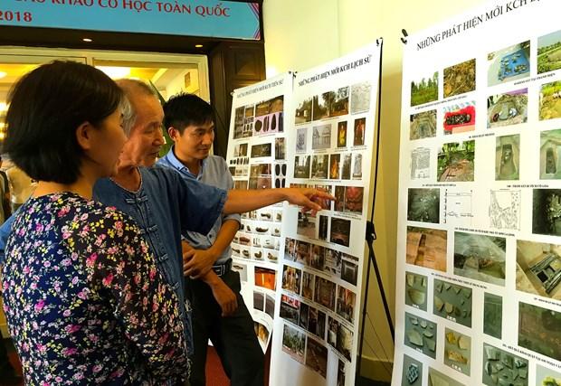 2018年越南考古新发现356项 hinh anh 2