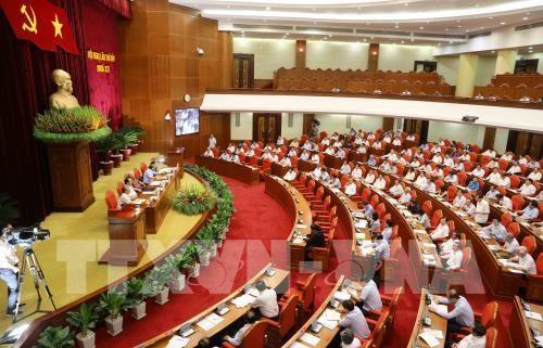 越南共产党第十二届中央委员会第八次全体会议今日上午在河内开幕 hinh anh 1
