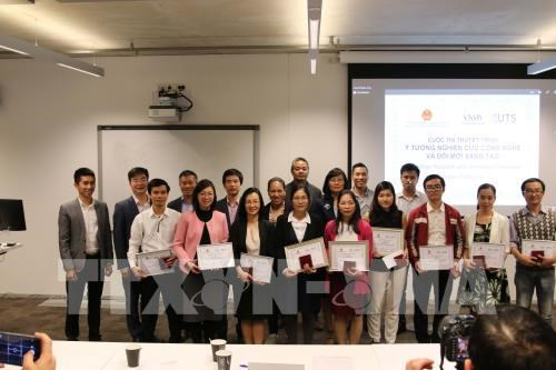 旅居澳大利亚越南科学界人士积极提供创新研究倡议 hinh anh 1