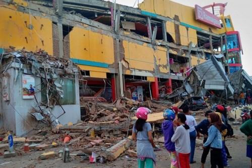 印尼地震和海啸:越南十名学生安全抵达雅加达 hinh anh 1