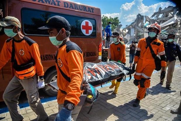 印尼地震和海啸:印尼政府为地震灾民设立临时避难所 hinh anh 2