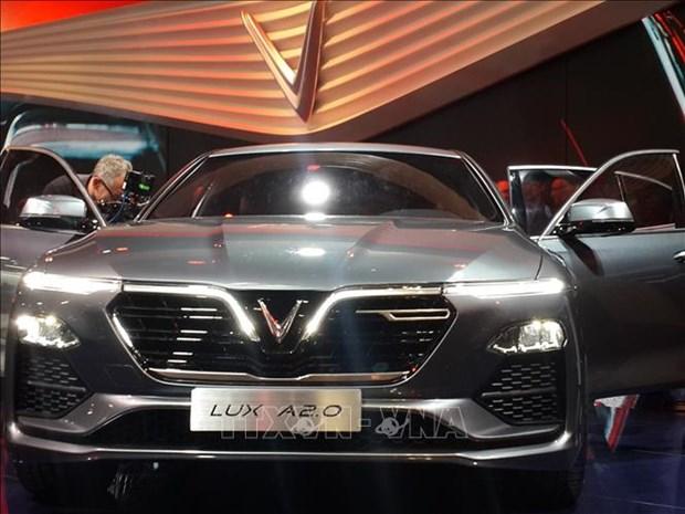 VinFast两款汽车正式亮相2018年巴黎车展 hinh anh 1