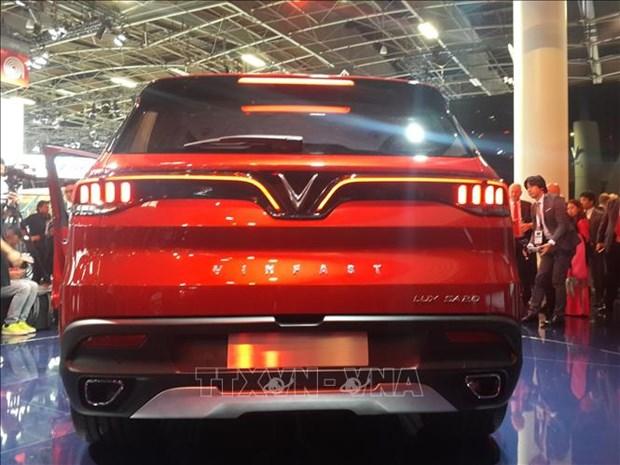 VinFast两款汽车正式亮相2018年巴黎车展 hinh anh 3