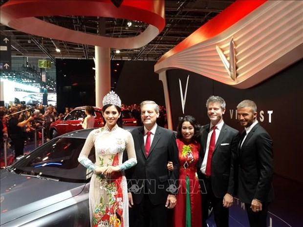 VinFast两款汽车正式亮相2018年巴黎车展 hinh anh 2