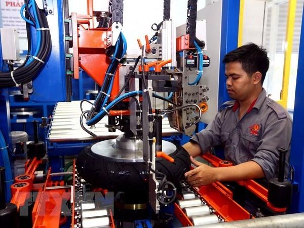 承天顺化省工业生产指数同比增长7.44% hinh anh 1