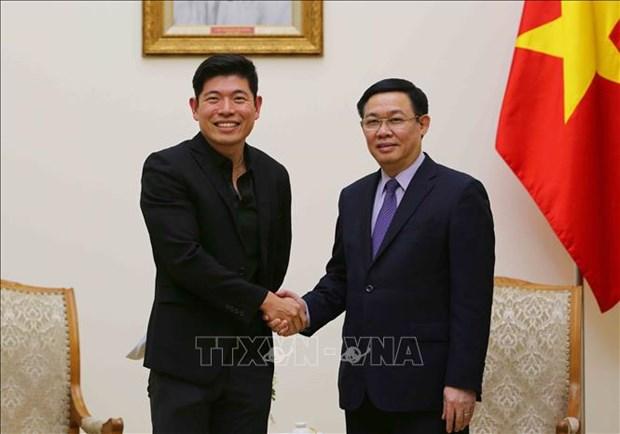 越南政府支持发展非现金支付 hinh anh 1