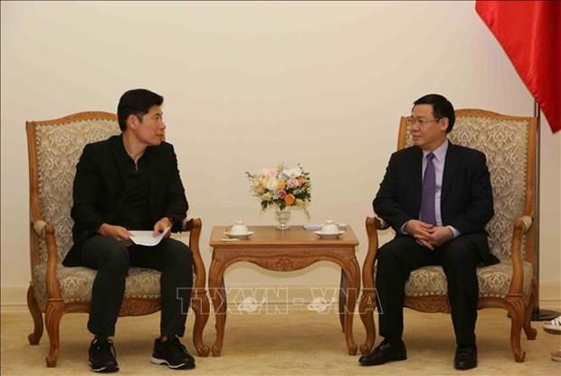 越南政府支持发展非现金支付 hinh anh 2