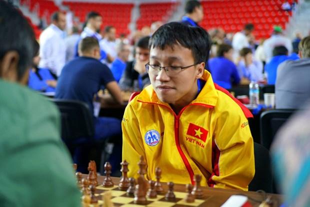 国象奥赛:越南男队击败加拿大男队 hinh anh 1